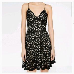 Zara Dresses - Zara Romantics Delicate Spaghetti Strap Lace Dress